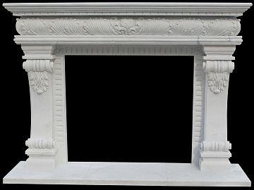 Italian neo-classical marble fire surround – model mfp154