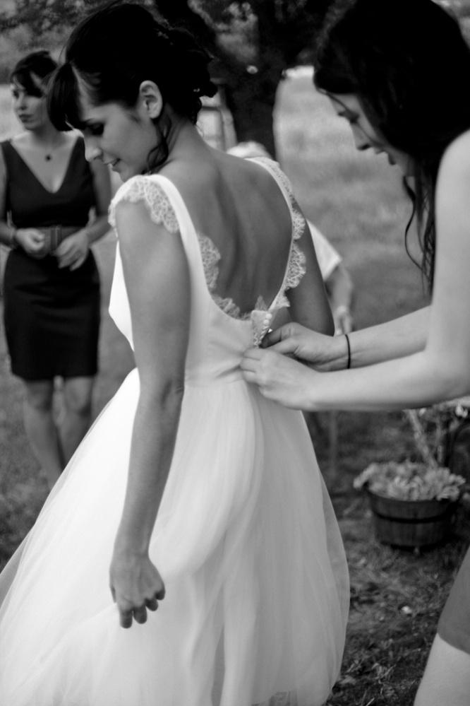 Un mariage dans les Alpes-de-Haute-Provence. © Alban Desloyal pour M+M