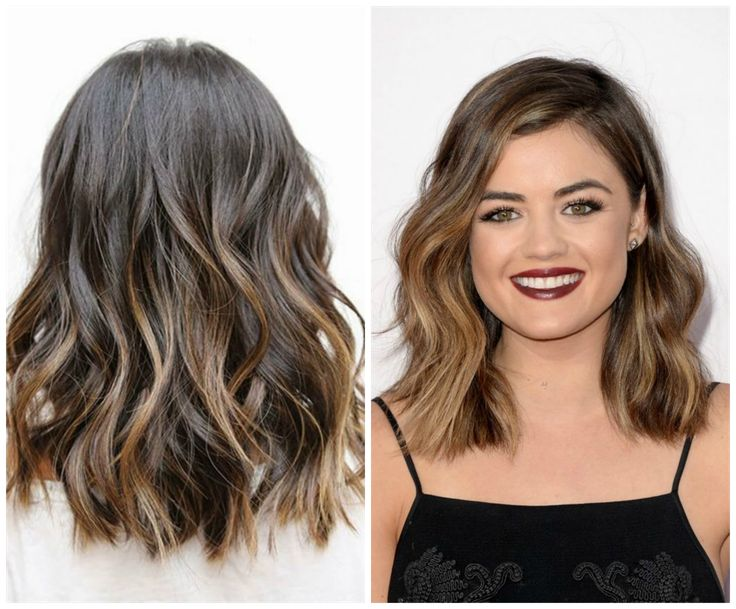from lucy hale tumblah · Lob Ombre Hair Inspiration