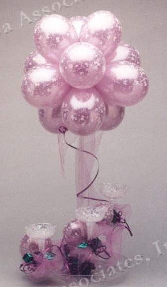 Balloon wedding balloons and centerpieces on
