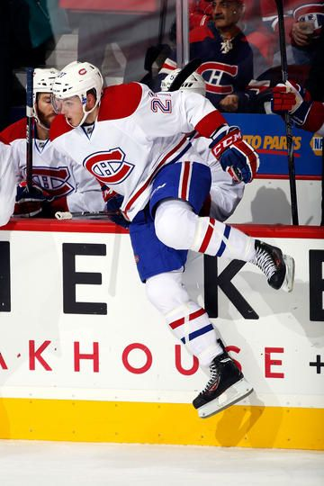 Alex Galchenyuk #27 of the Montreal Canadiens