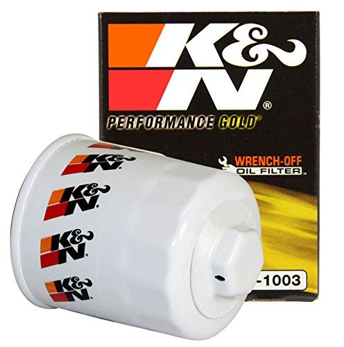 K&N HP-1003 Performance Wrench-Off Oil Filter - Originally developed for demanding auto race applications, our premium oil filter is rapidly becoming a favorite among consumers for its durability and easy removal. We've changed oil filters and several of our product development technicians are sportsman class drag racers. They insisted we offe...