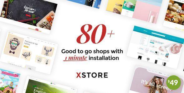 Xstore Responsive Multi Purpose Woocommerce Wordpress Theme Nulled