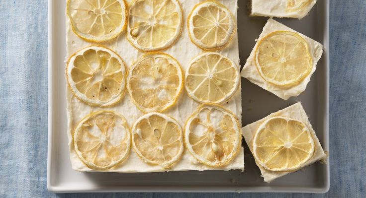 These Frozen Lemon Poppy Bars Are the Ultimate Warm Weather Treat