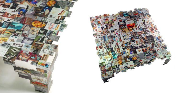 "VARIOUS | ""SEARCH TABLE"" PRINTED ALUMINUM PROJECT BY PROF. EZRI TARAZI - Elkeslasi Surface Design"