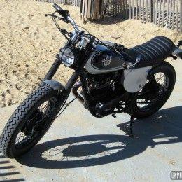 La Yamaha 500 XT restaurée de Samuel...