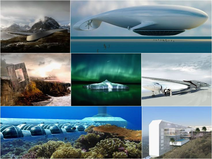 Underwater suites to flying rooms here are the 7 most spectacular hotels of the future