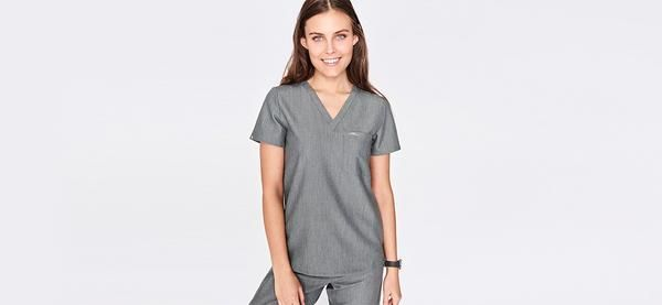 Shop our entire selection of women's scrub tops. From our one-pocket tops to our modern v-neck cuts, you'll find the perfect scrub top to fit your style.