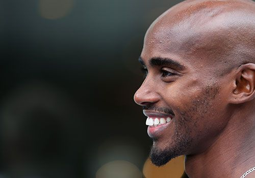 What does a double Olympic champion eat to stay on top? Long distance gold medallist Mo Farah divulges his training diet, tips for aspiring runners and a healthy love of burgers...