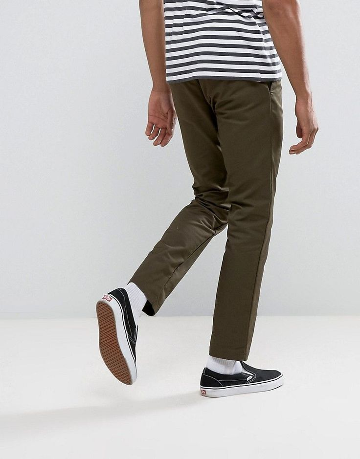 Carhartt WIP Sid Tapered Chinos - Green