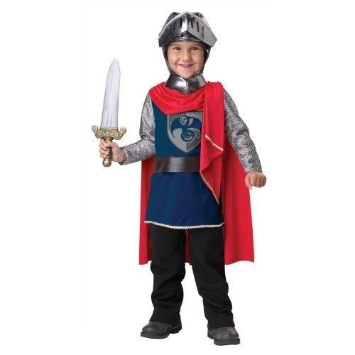 Halloween Costume Dress Up Kids Gallant Knight Toddler Costume For Boys Size 4-6 #CaliforniaCostumes #DressUp