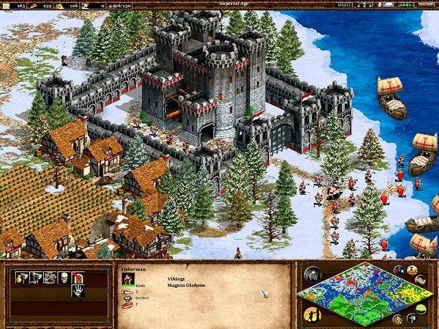 Age Of Empires 2, es un juego de estrategia en tiempo real ambientado en la Edad Media. Tiene una gran variedad de mapas (desierto, bosque, selva negra, islas, escandinava, etc) ademas cuenta con un motor para generar mapas aleatoriamente, haciéndolos únicos. También tiene un editor de mapas o escenarios que permite agregar mas detalles ambientales al mapa como puente, montañas, caminos de pierda, ect. Gracia a esto se crea un clímax agradable en el  juego haciéndolo entretenido y atraparte.