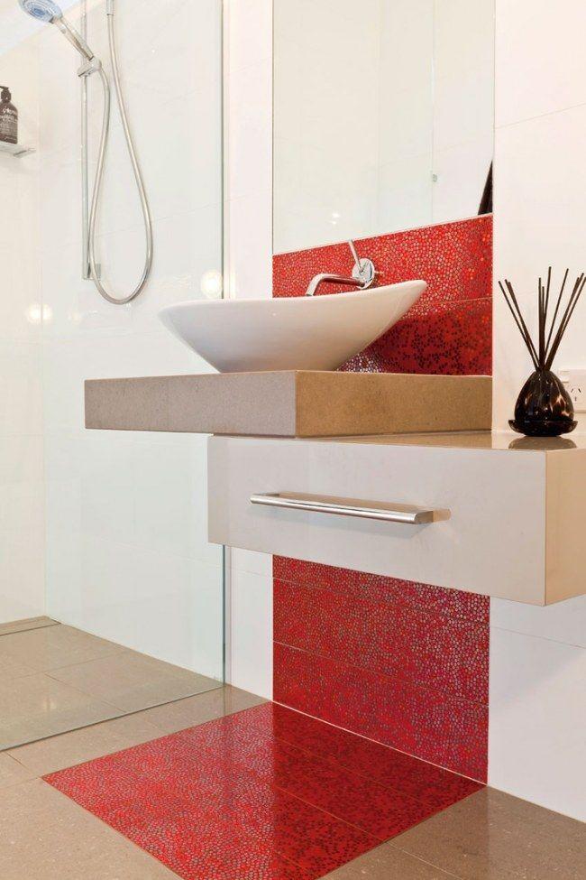 Decoracion De Baños Feos: De Baño, Cuarto De Baño De Cebra y Decoración Cuarto De Baño Rojo