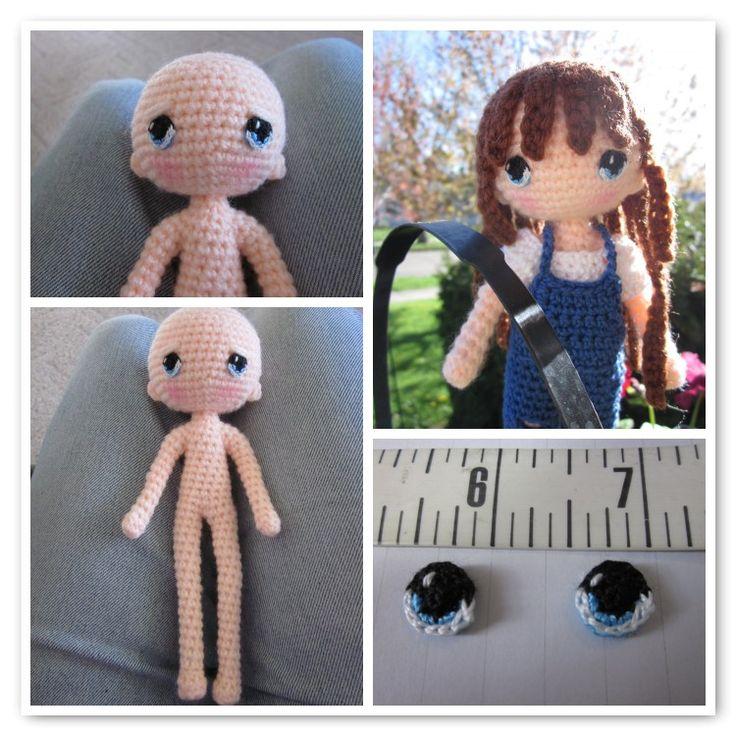 153 Best Dolls Images On Pinterest Crochet Doilies Crochet Dolls