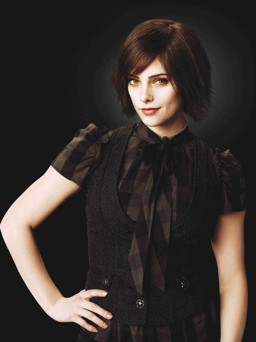 Alice Cullen. I LOVE her look, and she makes pale look sexy, definitely my kind of woman.