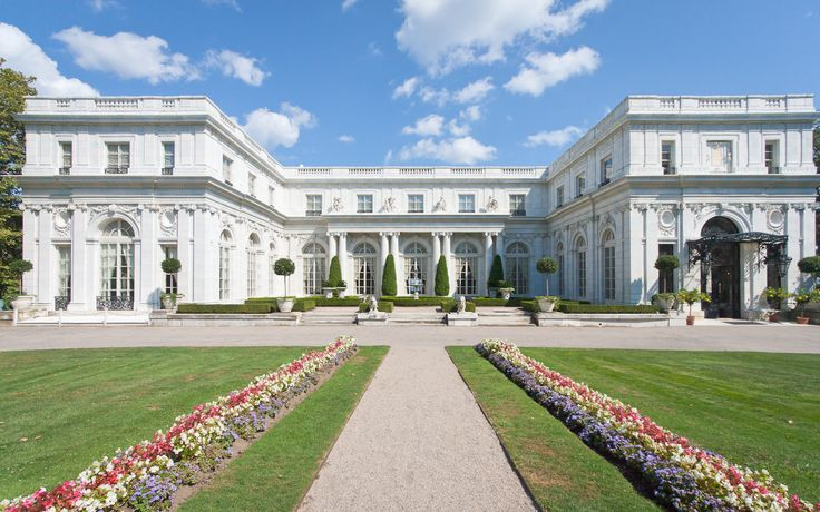 Ch. 2 - Rosecliff Mansion in Newport, RI. (Could be the backside of Ludimor Estates.)