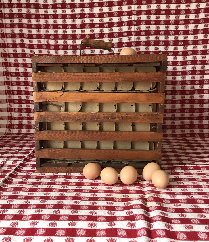 Excited to share the latest addition to my #etsy shop: Vintage Wooden Egg Crate * Large Egg Carrier * Humpty Dumpty * Owosso MFG Co. * Farmhouse Decor * Farm Decor * Crate with Handle #housewares #brown #birthday #mothersday #woodeggbox #eggcarrier #eggcrate #humptydumpty #owosso
