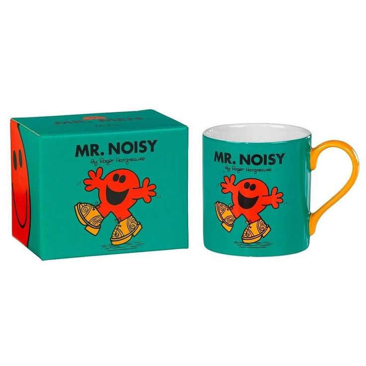 Mr Noisy Mug From Wild and Wolf  #gift #presents #gifts #birthday #cool #cheap #mzube #shopping #quirky #sale   https://www.mzube.co.uk