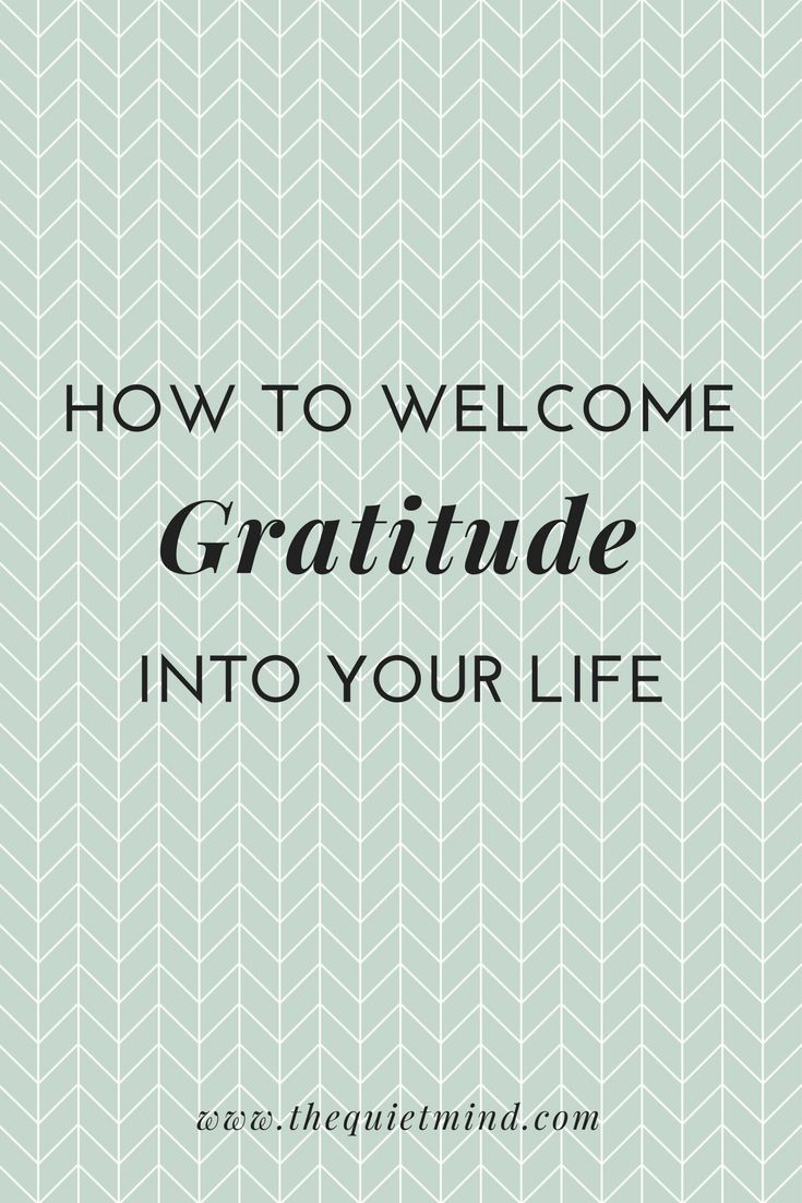 What does gratitude actually mean to you?  You know, I don't believe in luck. I mean I don't believe in people who are lucky and those w...
