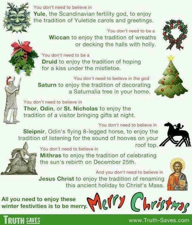 21 best The Truth vs. christmas images on Pinterest | Pagan ...