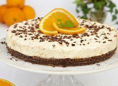 Apelsin-cheesecake