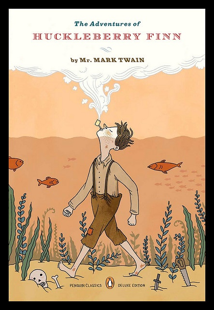 an analysis of the father figure in the adventures of huckleberry finn by mark twain Start studying the adventures of huckleberry finn the adventures of huckleberry finn by mark twain incorporated into the story as a father figure for.