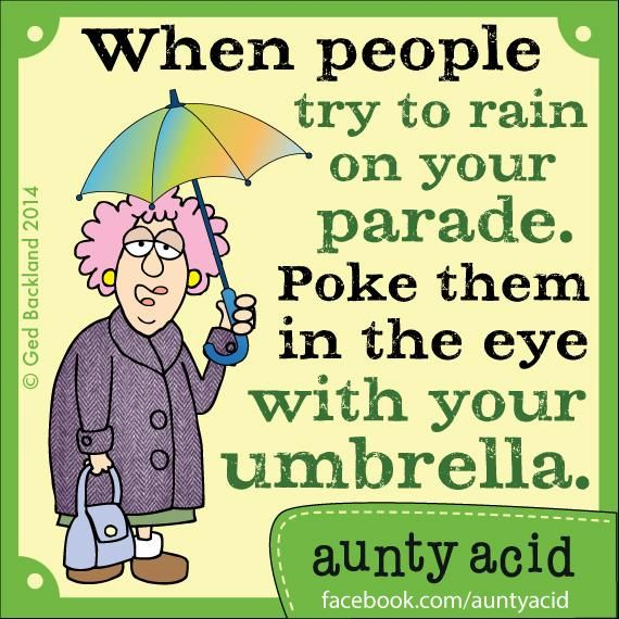 Funny Quotes About Rainy Days: 33 Best Funny Maxine & Aunty Acid Images On Pinterest