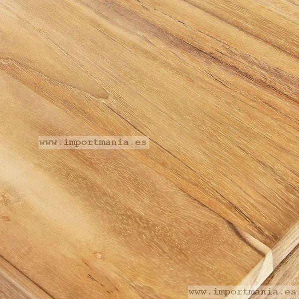 Olmo. Marrón claro a castaño rojizo,medianamente dura,muy duradera,grano muy fino.Se usa para marcos,muebles de poco precio y suelos.