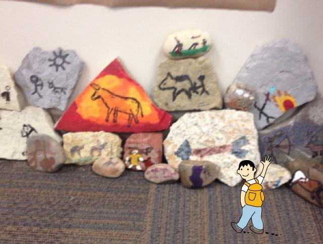 Pintura rupestre. Ideas para trabajar el proyecto escolar de la prehistoria con niños.