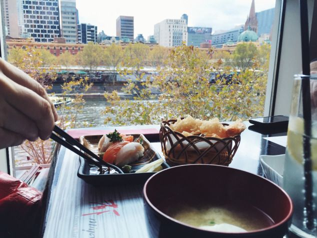 Good Food, Good Karma. | Beautiful view of the Yarra River, Melbourne.