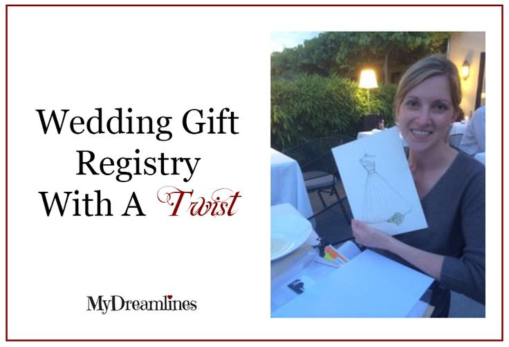 Wedding gift registry. http://www.mydreamlines.com/bride-wife-registry ...