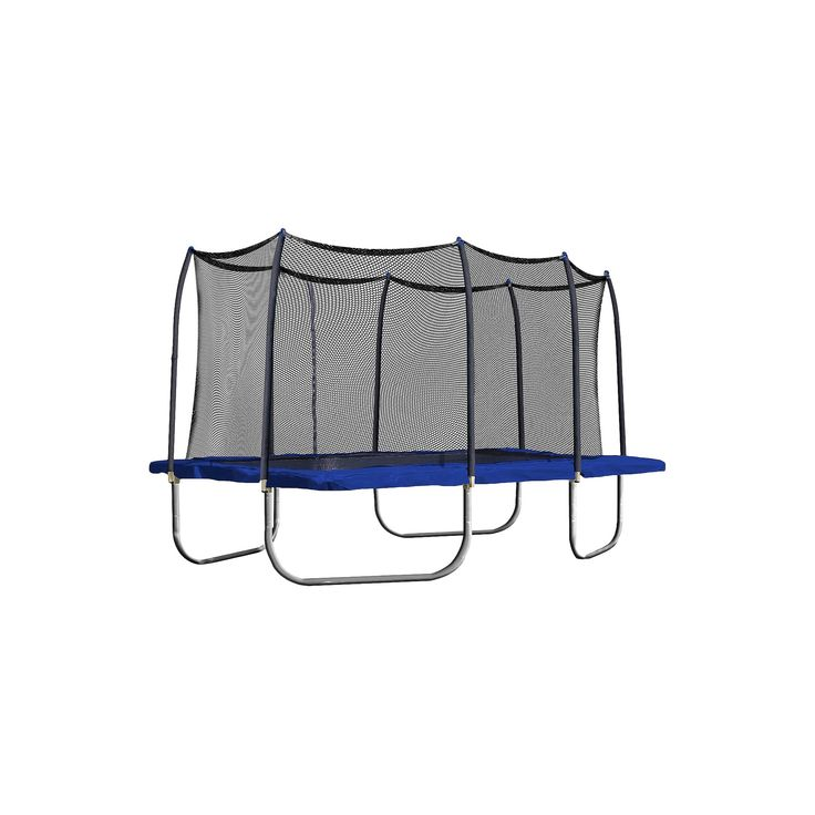 Skywalker Trampolines 15' Rectangle Trampoline with Enclosure - Blue, None - Dnu