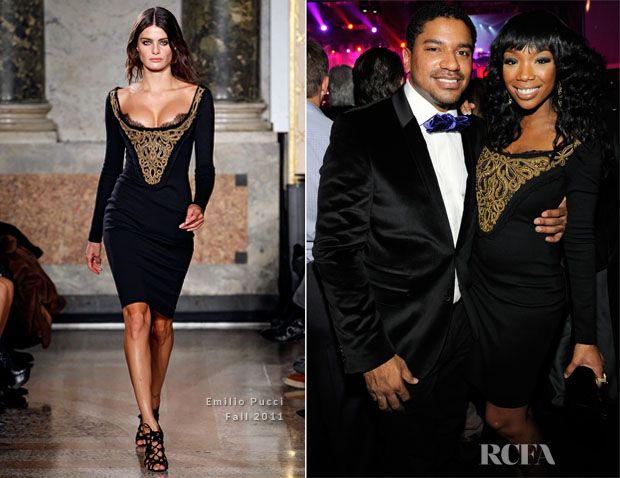 Brandy Norwood In Emilio Pucci – The Cosmopolitan Of Las Vegas Celebrates New Year's Eve