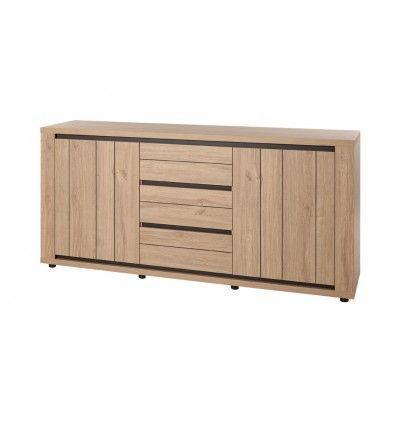 bahut contemporain coloris ch ne ajoutera votre. Black Bedroom Furniture Sets. Home Design Ideas