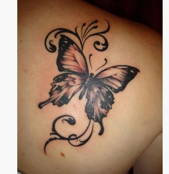 21 butterfly shoulder tattoos for girls tattoo pinterest butterfly shoulder tattoo. Black Bedroom Furniture Sets. Home Design Ideas