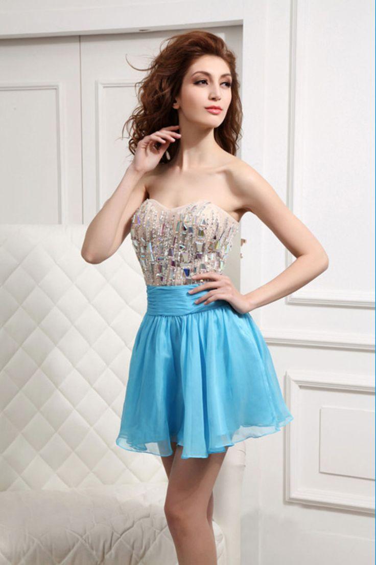 86 best Cocktail Dresses images on Pinterest | Short prom dresses ...