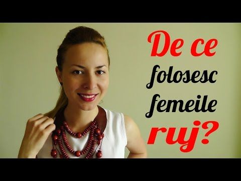 De ce folosesc femeile ruj? R.F.E Vlog