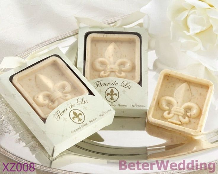 XZ008_Fleur-de-Lis Scented Soap Wedding Decoration_Wedding Gift_Wedding Souvenir_hotel amenity  #weddingfavors, #babyshowerfavors, #Thank you gifts #weddingdecoration #jars #weddinggifts #birthdaygift #valentinesgifts #partygifts #partyfavors #novelties #Souvenirs #BeterWedding
