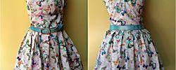 Tutoriales de costura: Vestido de vuelo para lucir en verano