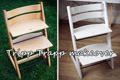 Tripp Trapp makeover - come and see how I painted my Tripp Trapp Stokke chair :)