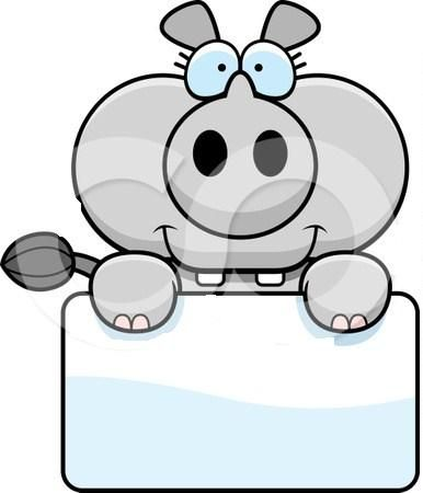 1095019-Clipart-Rhino-Holding-A-Sign-Royalty-Free-Vector-Illustration.jpg (386×450)