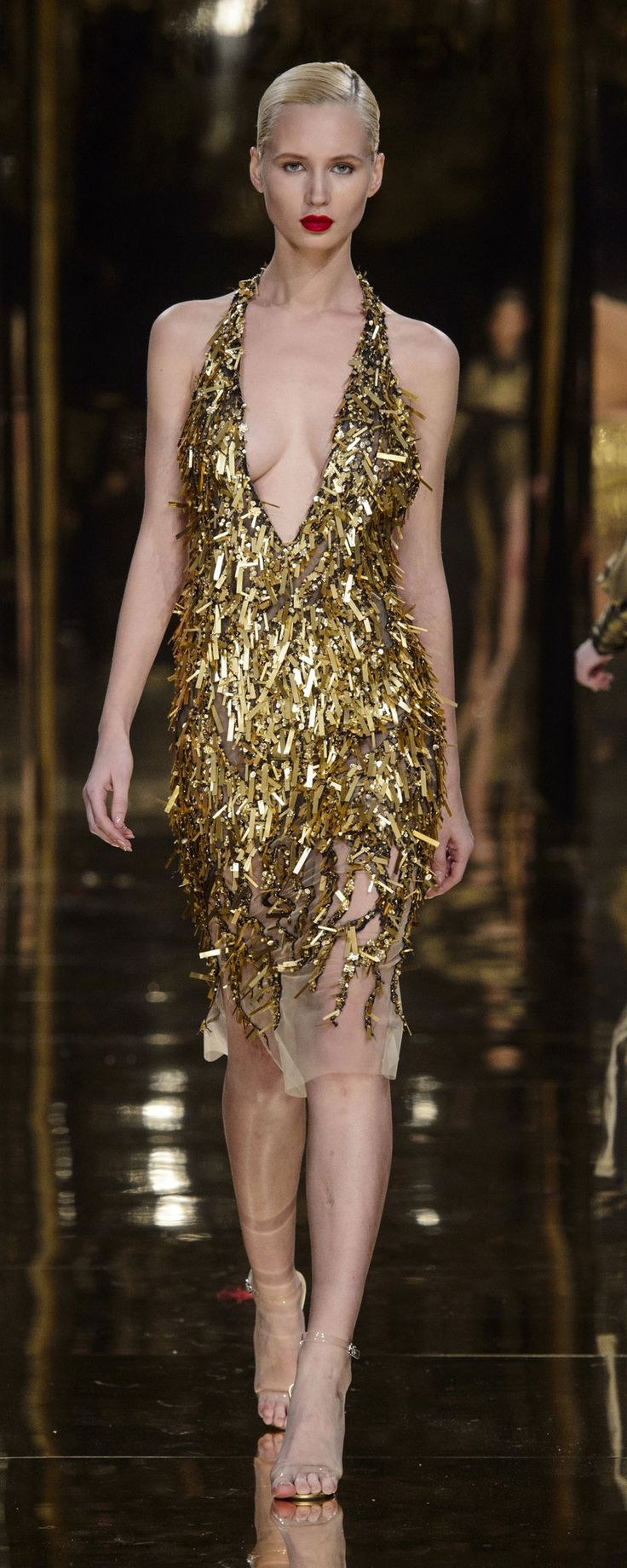 Rani Zakhem Spring-summer 2018 - Couture - http://www.orientpalms.com/Rani-Zakhem-7011 - ©ImaxTree