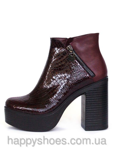Ботинки на высоком каблуке, фото 2
