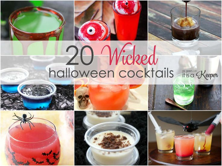 Halloween Party Cocktail Ideas Part - 49: 20 Wicked Halloween Cocktails