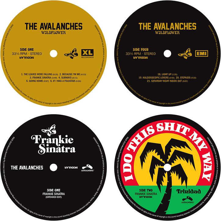 Lost_art_the_avalanches_vinyl_labels