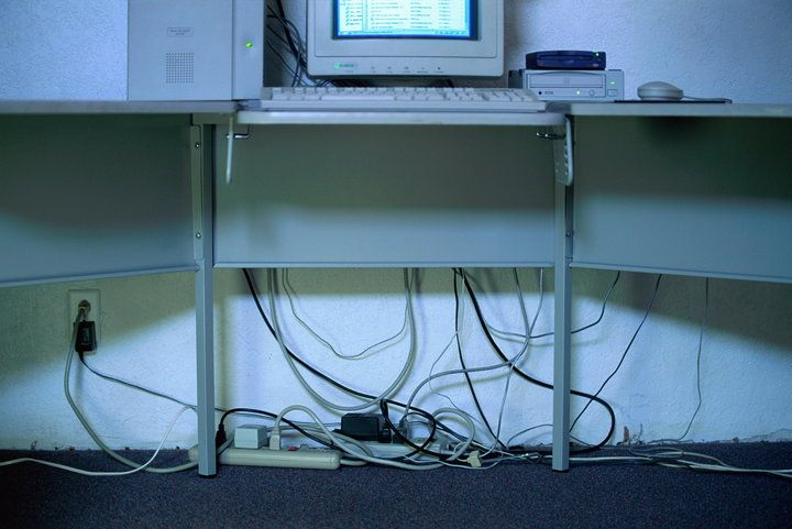 HOW TO HIDE ELECTRICAL & TECH CORDS ~ Lots of ideas here!
