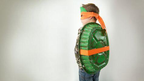 Disfraz de Tortuga Ninja casero #Carnaval #diy #disfraces