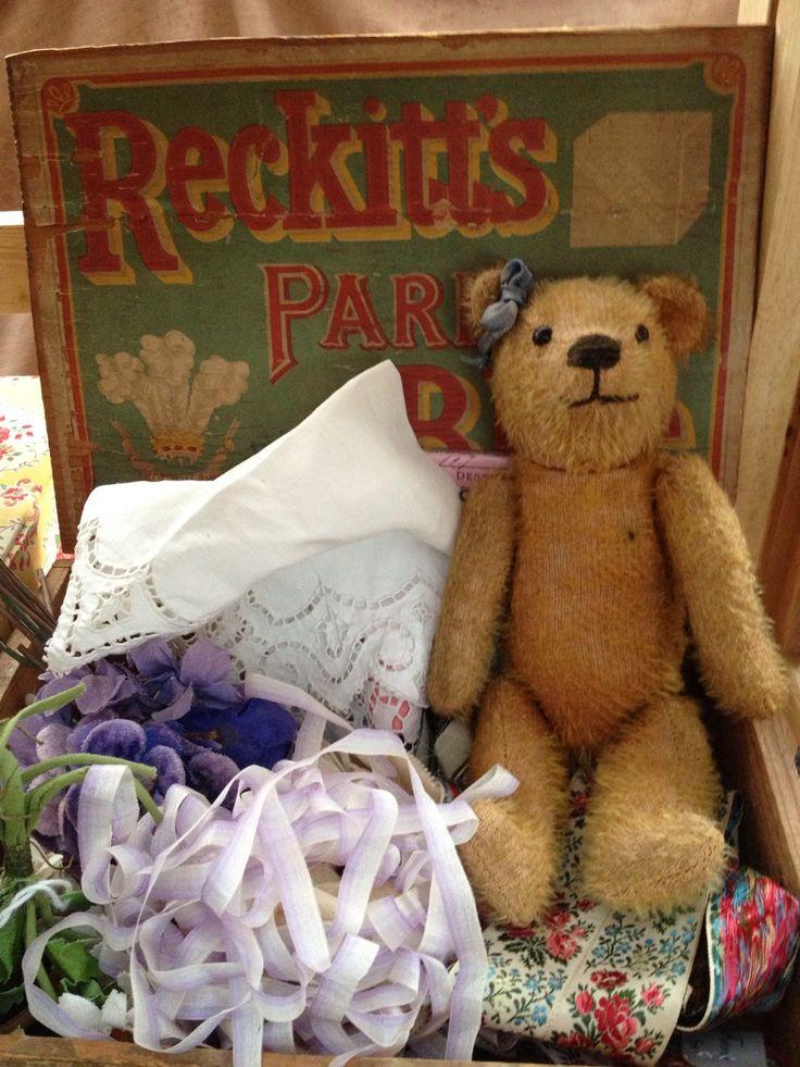 Vintage Teddy Bear ~ Fresh Farmhouse