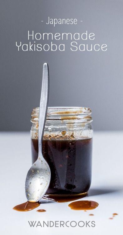 Really nice recipes. Every hour. • Homemade Yakisoba Sauce Recipe -This Homemade...
