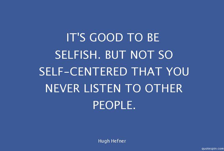 25+ Bästa Self Centered Quotes Idéerna På Pinterest